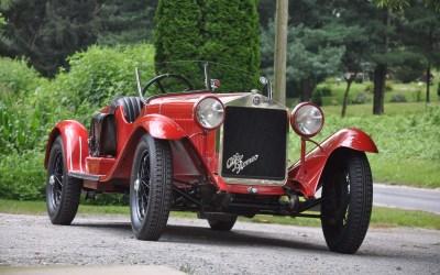 Alfa Romeo – 6C 1500 SS MM Spider Zagato