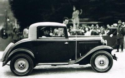 Fiat – 508 Balilla Cabriolet Castagna