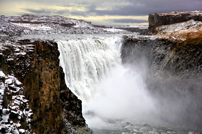 Dettifoss Waterfall in Iceland - Photo by Carry-On Traveler