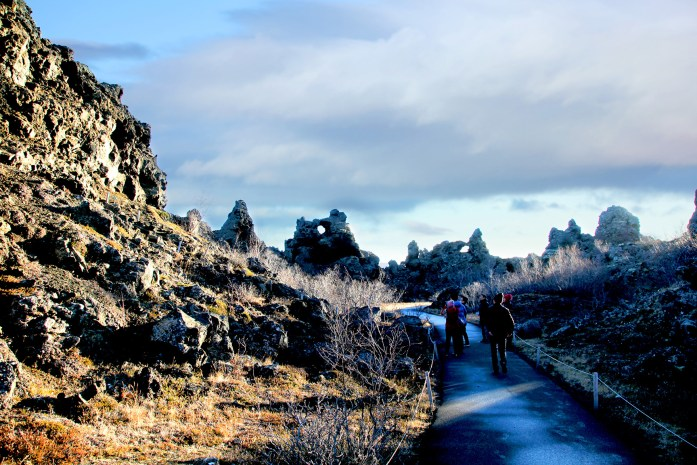 Dimmuborgir in Iceland - Photo by Carry-On Traveler