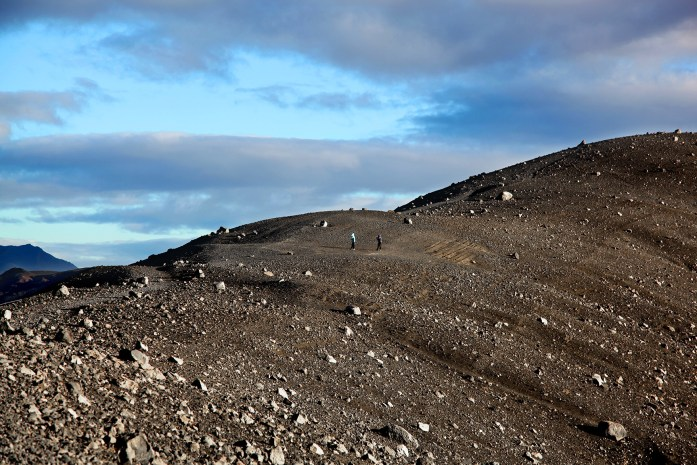 Rim of Hverfjall Volcano Crater in Iceland - Photo by Carry-On Traveler