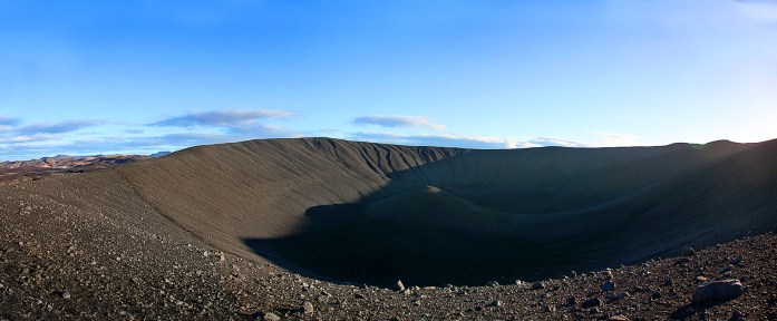 Hverfjall Volcano Crater in Iceland - Photo by Carry-On Traveler