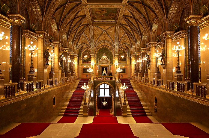 Budapest Parliament Grand Staircase
