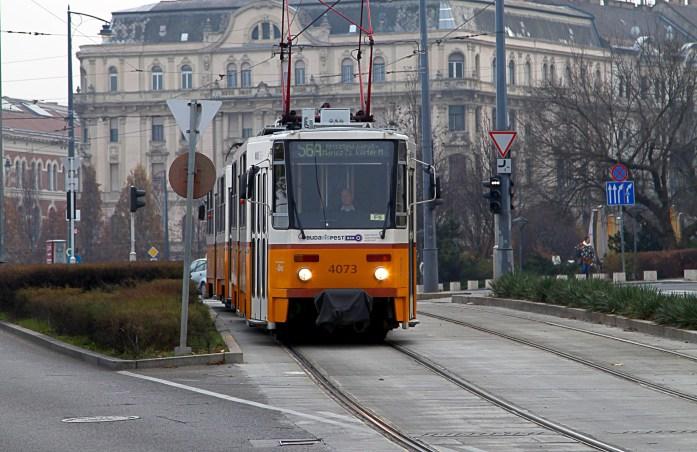 Budapest Street Car