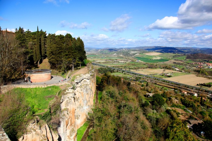 Dramatic view 1 in Orvieto, Italy