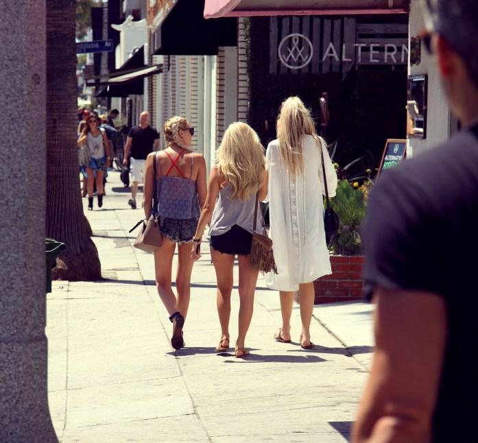 Venice Beach Abbot Kinney Shopping