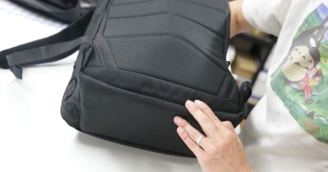 GORUCK laptop compartment false bottom
