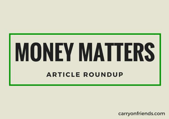 money matters article roundup
