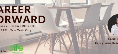 Career Forward Workshop with Kerry-Ann Reid-Brown