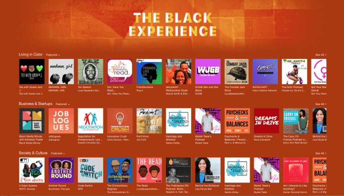 Carry On Friends The Caribbean American Podcast in Apple Podcast The Black Experience 2016