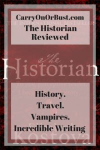 The Historian - Elizabeth Kostova Review