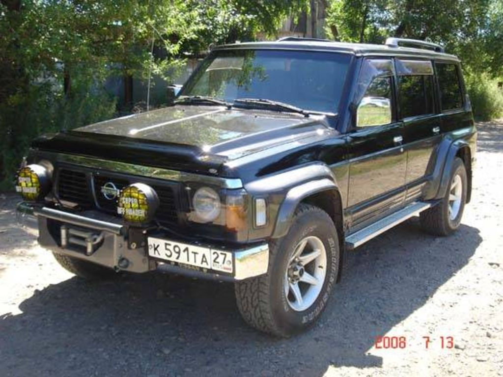 1994 Nissan Patrol Pictures For Sale
