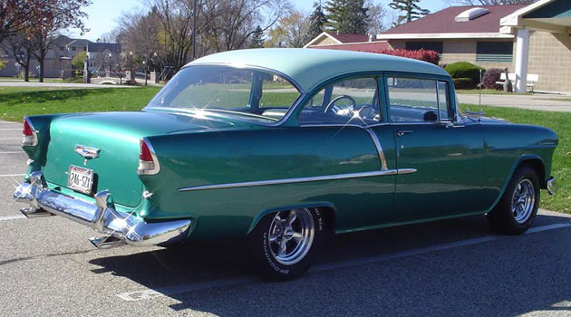 1955 Chevy Bel Air 2 Door Post