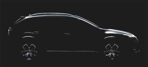 Subaru XV Concept Crossover at Shanghai auto show April 19-28, 2011