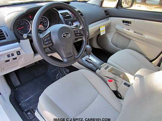 Subaru Crosstrek 2017 Interior Colors