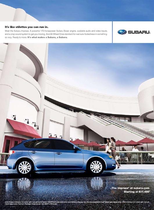 Subaru Advertising Photographs Page 1