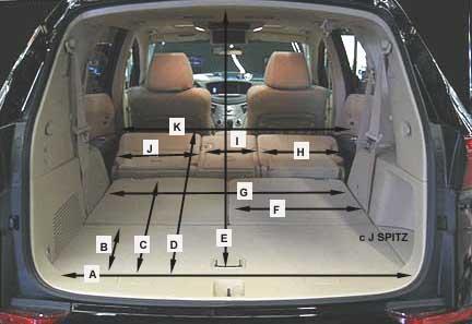 minivan interior dimensions | Decoratingspecial.com