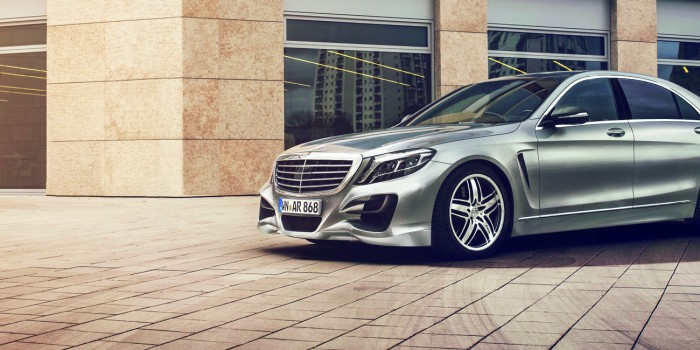 Spectacle! The new S-Class from Lorinser