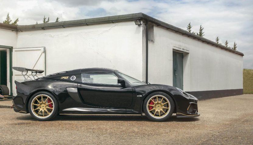 lotus bashes out two screamers for birthday - Exige430Cup Type79 8020 7987 831x477 - Lotus bashes out two screamers for birthday