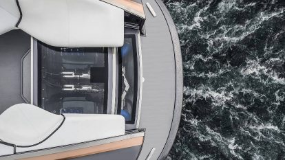 avast, ye landlubbers -- if it's treasure y' seek'n - Lexus Sports Yacht Concept engines 414x233 - Avast, ye landlubbers — if it's treasure y' seek'n
