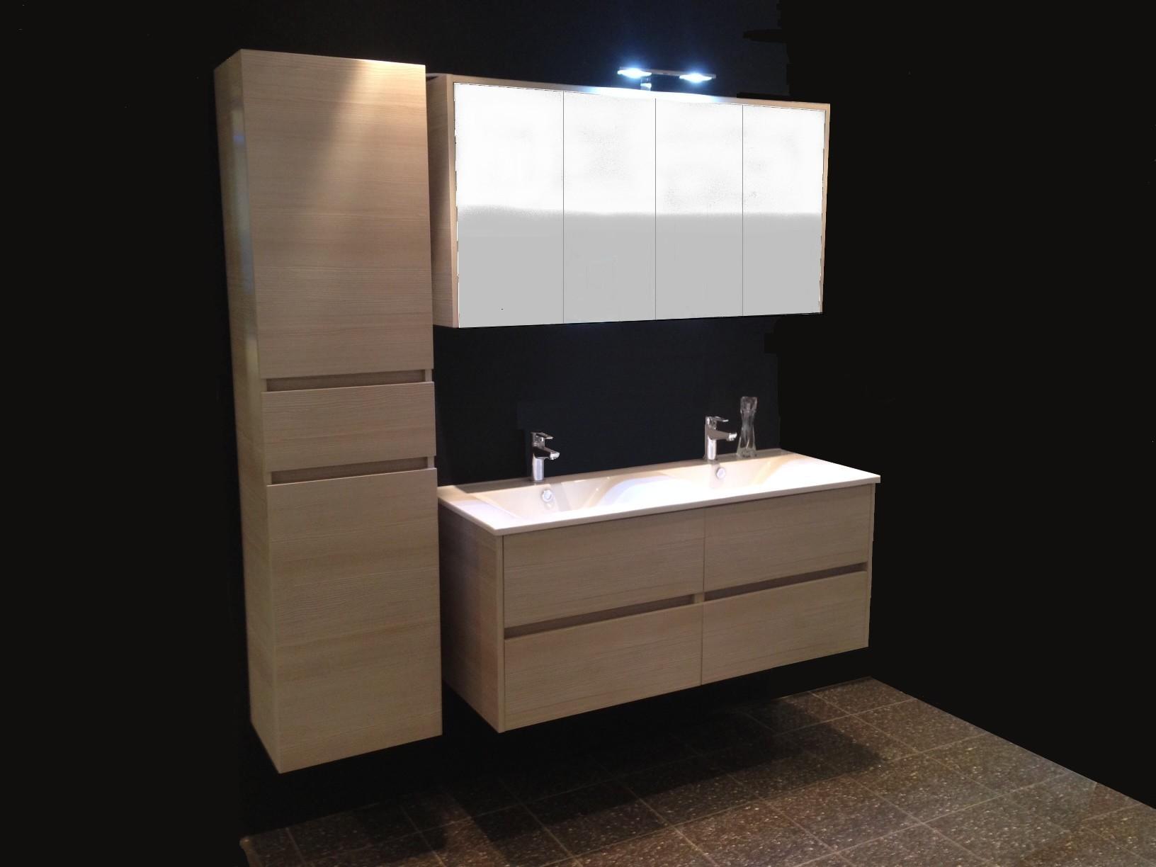 Carsana Porto Meuble 120 Armoire De Toilette