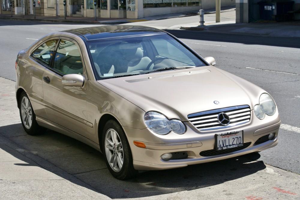 2002 Mercedes Benz C230 Kompressor Stock 130603 For Sale