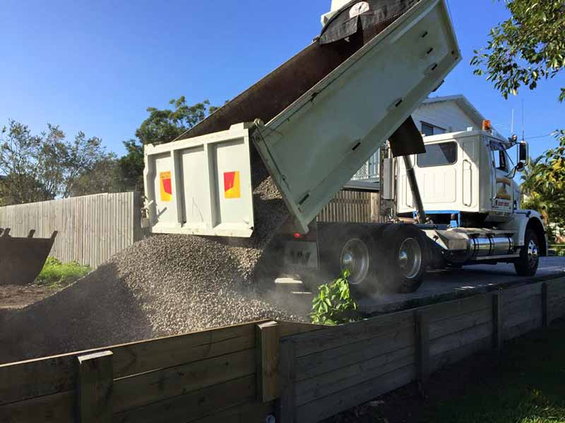 Retaining Wall Carsburg Earthmoving