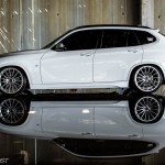 Hot Or Not Stanced Bmw X1 Poses Inside Abandoned Warehouse Carscoops