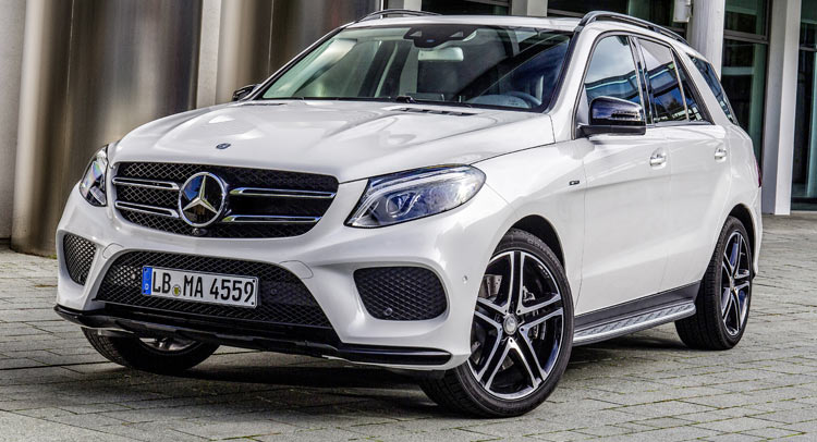 Mercedes Benz Debuts GLE 450 AMG 4Matic SUV Carscoops