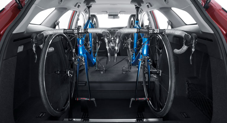 honda designs in car bicycle rack for