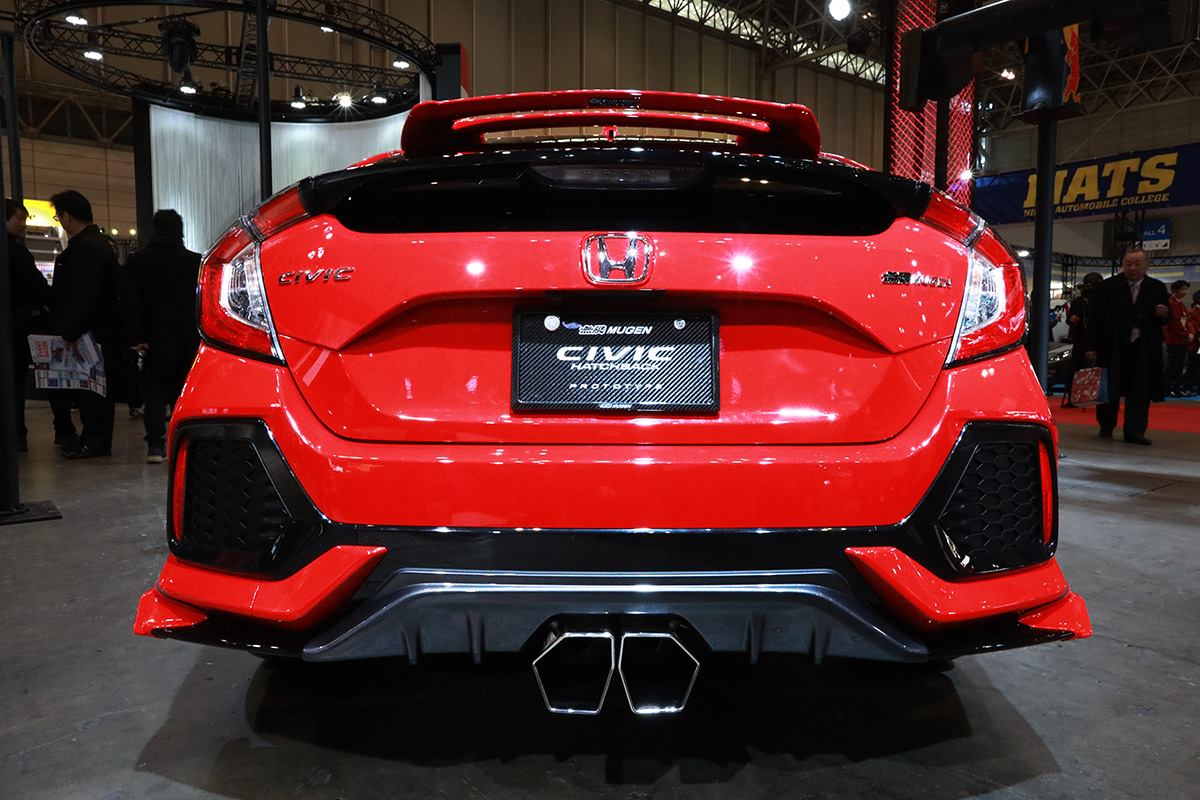 Mugens Take On The Base Civic Hatch Is Subtle Yet Still