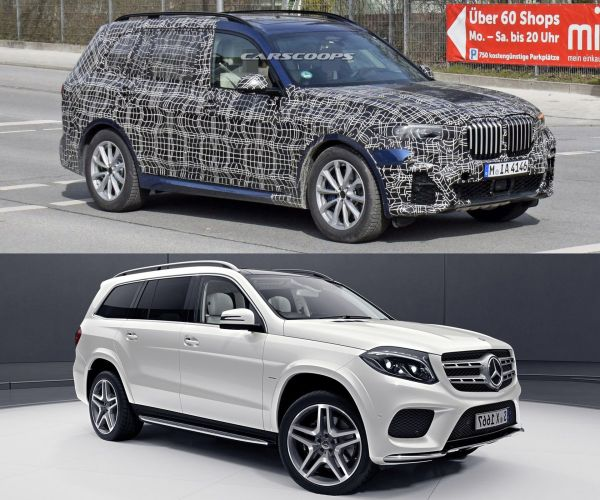 2019 BMW X7 Looks Massive Next To First X3 | Carscoops