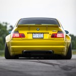 Slammed Bmw M3 E46 With Wide Body Kit Won T Please The Purists Carscoops