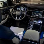 Navarra Blue Audi Q8 Spotted In Showroom With Bespoke Interior Carscoops