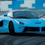 Two Baby Blue Ferrari Laferraris Hit The Racetrack In Anger Carscoops