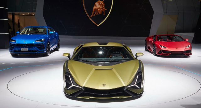 "Lamborghini Adds ""FKP 37"" Moniker To Sian, Updates Urus ..."