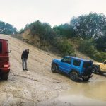 Which Is The Best Off Roader The Mercedes Amg G63 Suzuki Jimny Or Jeep Wrangler Carscoops