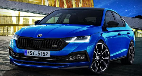 2020 Skoda Octavia RS Rendered As The More Practical Golf ...