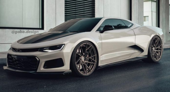Mid Engine Everything Chevrolet Camaro Envisioned As Corvette C8 Buddy Carscoops