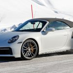 First Real Life Photos Of 2021 Porsche 911 Turbo S In Both Coupe And Convertible Bodystyles Carscoops