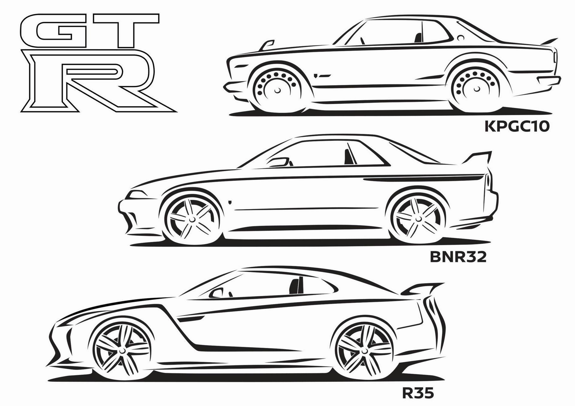 Keep Yourself Entertained With Nissan S 26 Page Coloring