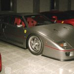 Artist Re Imagines The Sultan Of Brunei Owned One Off Ferrari F40 Carscoops