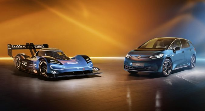 VW ID.R and VW ID.3