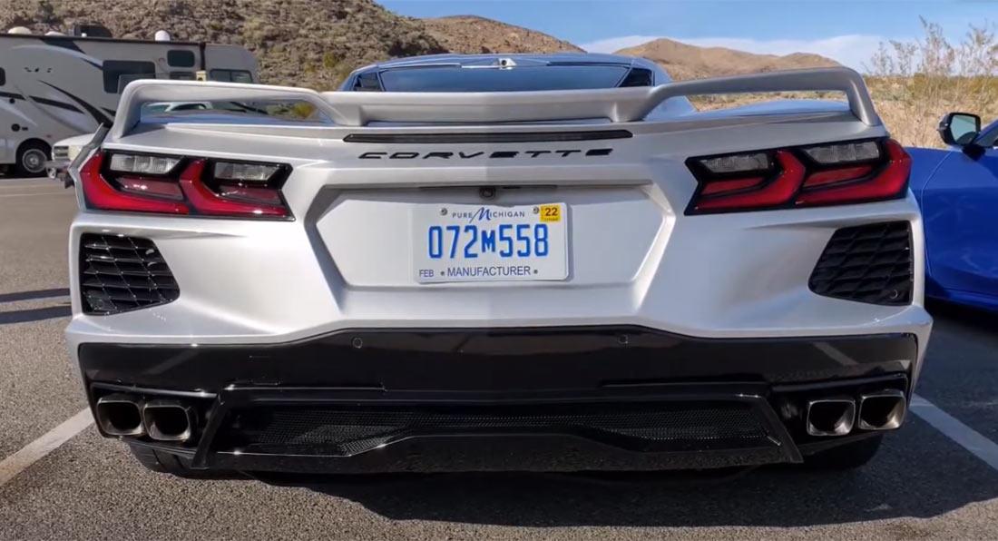 c8 corvette stingray sounds very