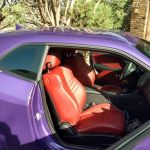This Dodge Challenger Hellcat Redeye S Paintjob Is Fittingly Named Plum Crazy Carscoops
