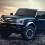 This Is Our Best Look At The 2021 Ford Bronco So Far Carscoops