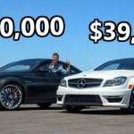 Is The 2013 Mercedes C63 Amg A Better Buy Than A 2020 C63 S Coupe Carscoops