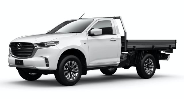 new 2021 mazda bt50 adds two workoriented chassis cab