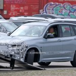 Facelifted 2021 Bmw X3 M40i Drops Some Camo In Latest Spy Shots Carscoops