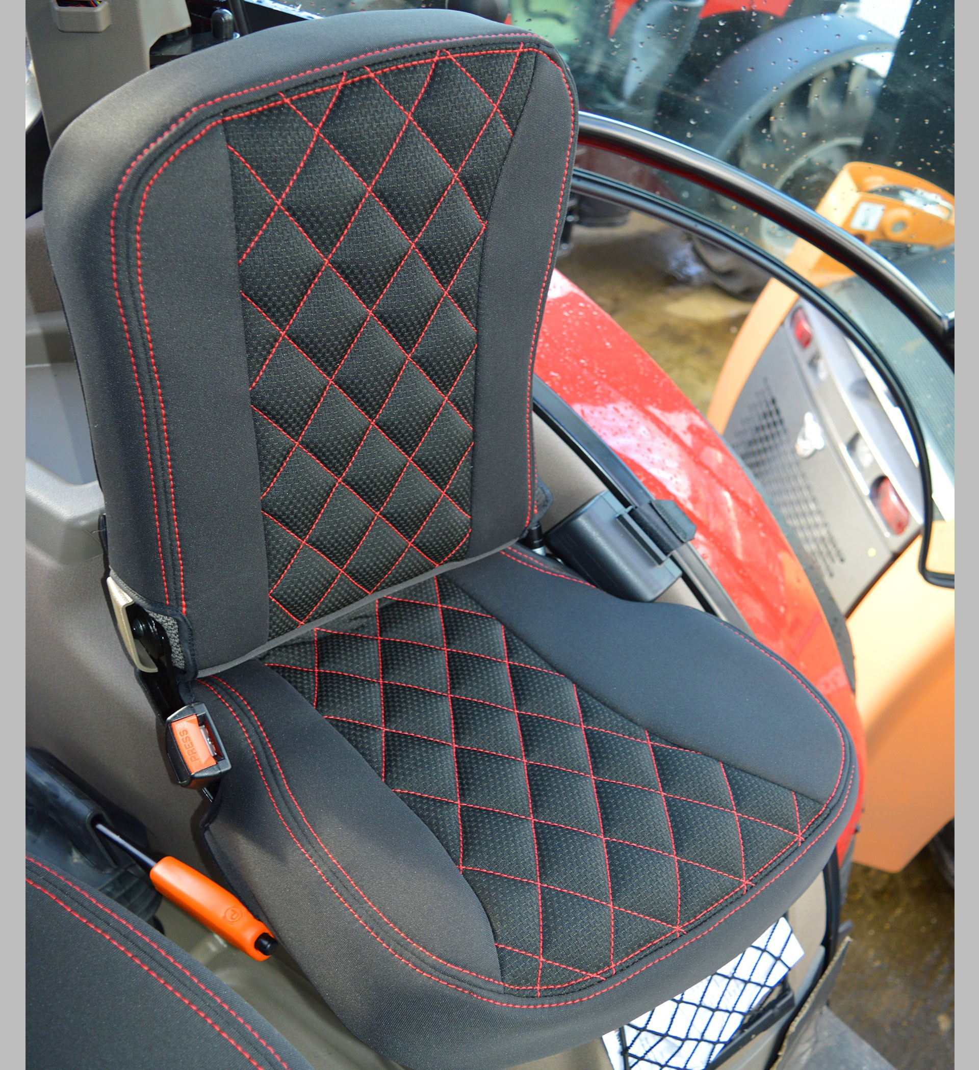 Case Ih Tractor Tailored Seat Covers For Grammer Dynamic